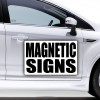 Bandit Signs > Car Magnetics