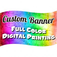 Full Color Custom Banner / Upload Your File
